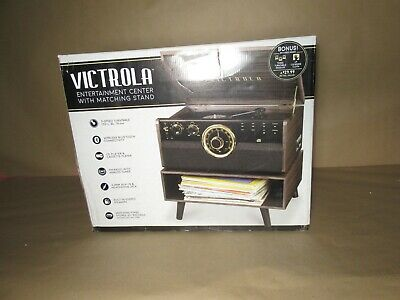 Victrola Empire Mid-Century Modern Record Player B
