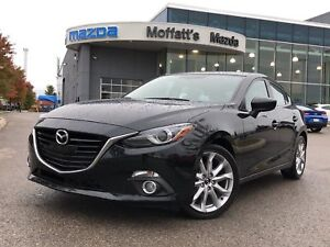 2015 Mazda Mazda3 Sport GT-L GT LUXURY PKG. LEATHER, BOSE, HEAT