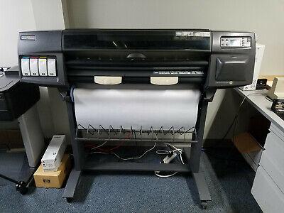 Hewlett Packard Designjet 1050c C6074a 36 Large Format Printer Plotter 100-240v