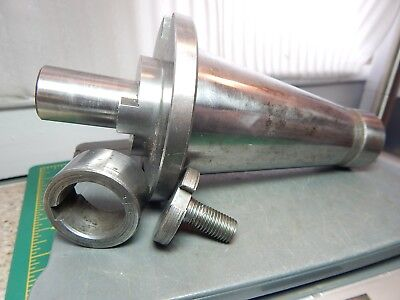 Weldon Tool Co. 12 H5-3 10 Bs Taper End Mill Tool Holder Wallen Bolt Set