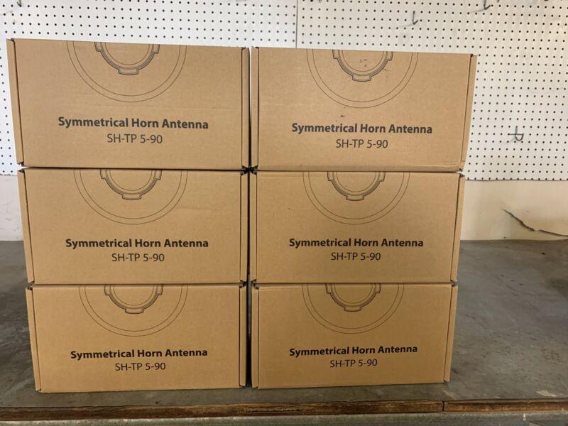 RF Elements HG3-TP-S90 9.6dBi 90 degree 5180-6400Mhz Symmetrical Horn Antenna