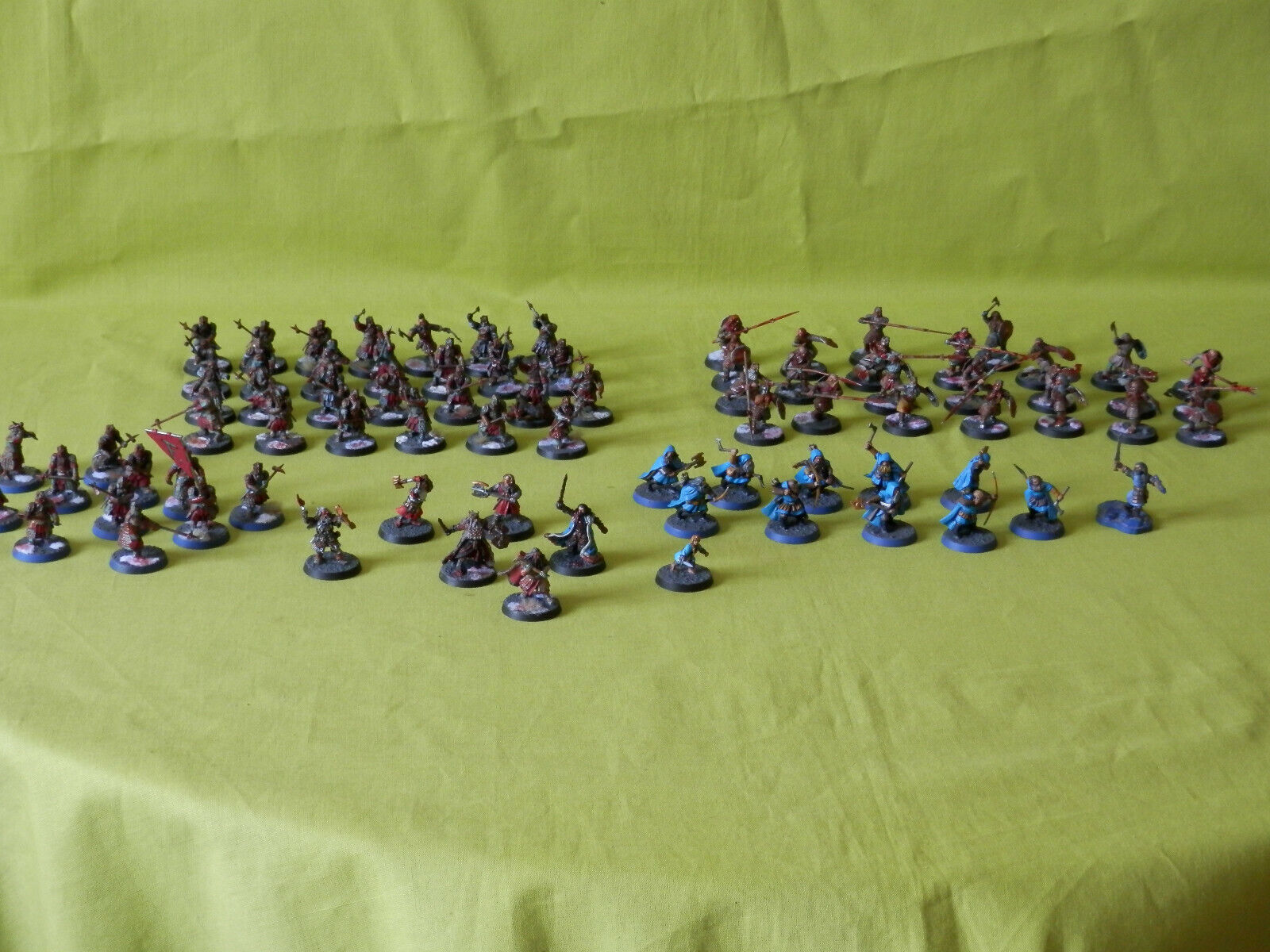 HOBBIT ARMY WARHAMMER LOTR MANY UNITS TO CHOOSE FROM