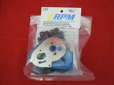 RPM TRANSMISSION BLUE TRANSMISSION GEARBOX TRAXXAS STAMPEDE RUSTLER SLASH 73615
