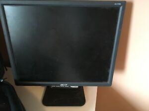 "17"" LCD Monitor (VGA connection). $30 obo"