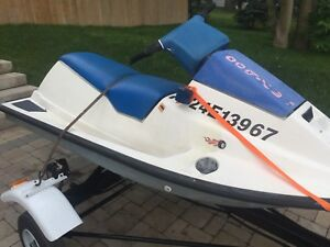 1988 seadoo sp and trailer