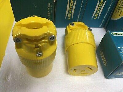 Leviton Wetguard Plug 4UFD4  183-24W47-000  NEW