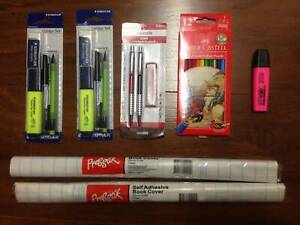 School Stationery Pack. Qty 7. $10 the lot