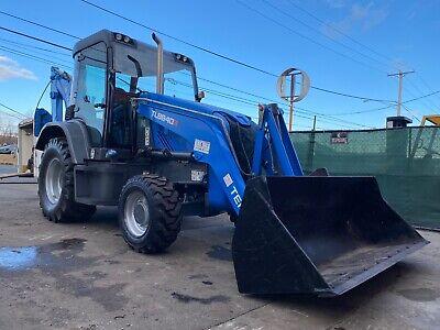 2016 Terex Tlb840r 4x4 Tractor Loader Backhoe W Cab Acheat Pilot Controls
