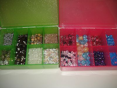 JEWLRY MAKING BEADS WITH CASES ()