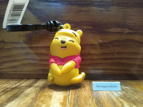 Disney Winnie the Pooh Figural Bag Clip Series 28 3 Inch Pooh Laughing