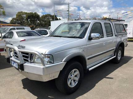 2006 Ford Courier PH XLT Crew Cab Ute Bayswater North Maroondah Area Preview