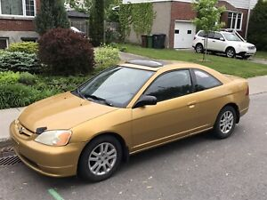 Honda Civic SI  2001 automatique