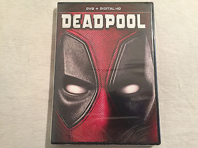 Deadpool  Dvd  2016  Brand New   Free Shipping To The Us