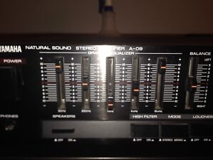 Yamaha amp with  built in equilizer