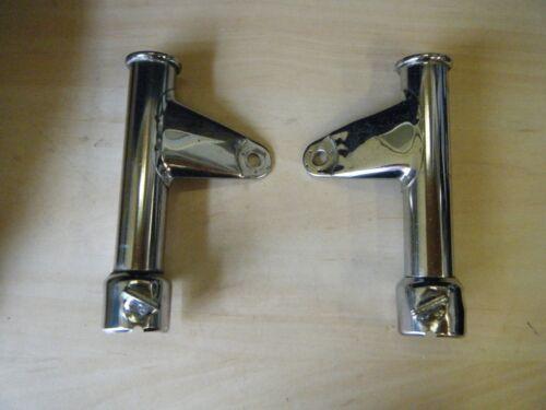 Honda CB250N /CB400N Super-Dream O.E Headlamp Brackets (Pair)