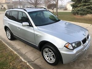 2006 BMW X3 AWD FULLY LOADED CLEAN TITLE FRESH SAFETY $7,499