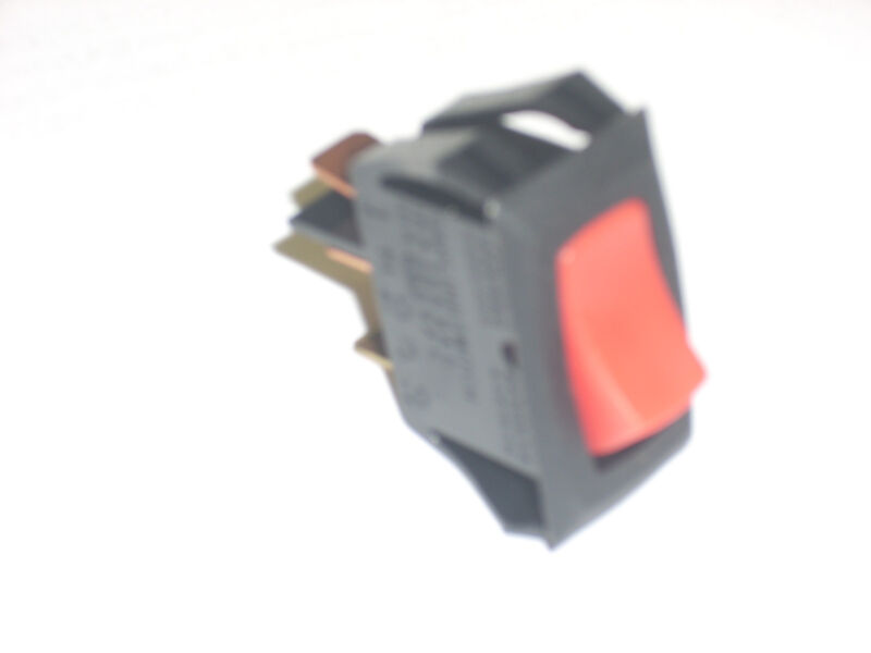 CARLINGSWITCH LRA911-RS-B/120N Lighted Rocker Switch 120V