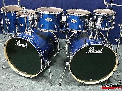 "Pearl Export Doppel Bassdrum Set  22,22,10,12,13,14,16""+14x5,5"" Snare + Hardware"