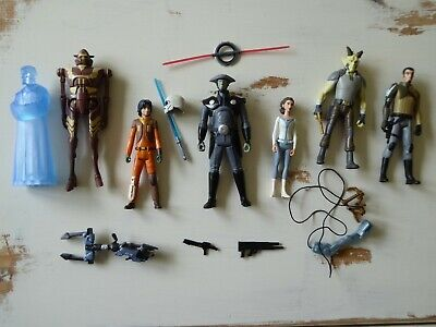 Star Wars Rebels - lot of 7x action figures - Hasbro