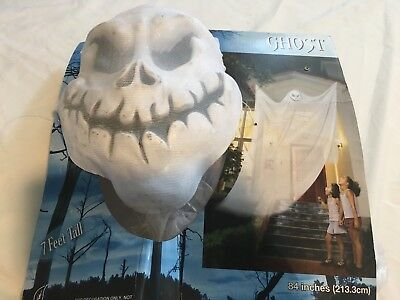 Floating Ghost Skull Halloween Haunted House Prop  (Floating Ghost)