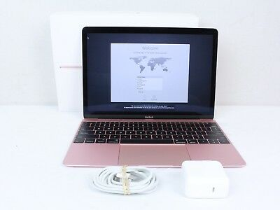 Apple MacBook Retina Core M3 1.1GHz 8GB RAM 256GB SSD 12-inch Early 2016