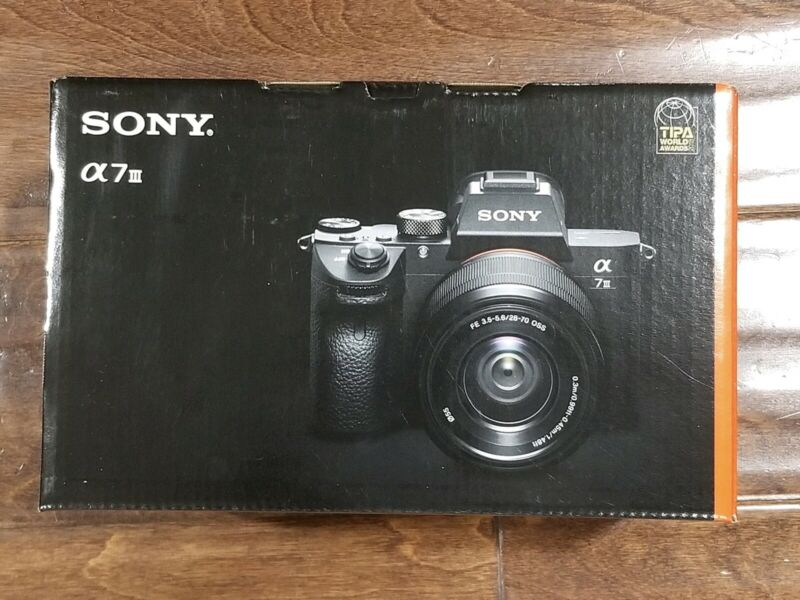 BRAND NEW Sony Alpha a7 III Full Frame Mirrorless Digital Camera Body ILCE7M3/B