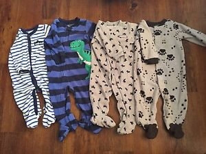 Carters size 6 month sleepers
