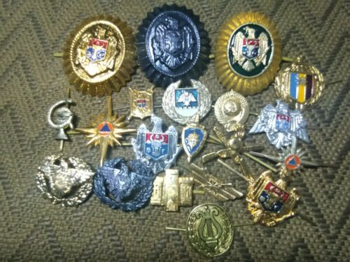 Moldova cockade and pin badge 20 pieces