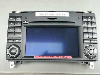 Original Mercedes R-Klasse W251 Comand USA Display Radio Navigation System NTG2