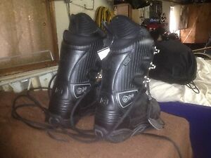Snowboard boots and helmet new with tags