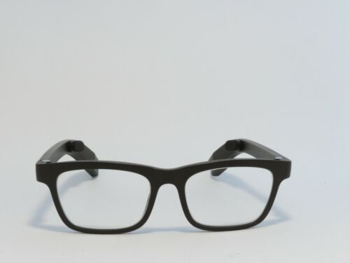VUE BY VIGO CLASSIC SMART GLASSES BONE CONDUCTION ACTIVITY TRACKING BROWN RX NEW