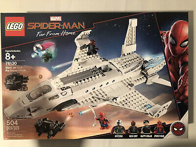 LEGO Marvel Super Heroes Stark Jet and the Drone Attack Set (76130) NEW!!
