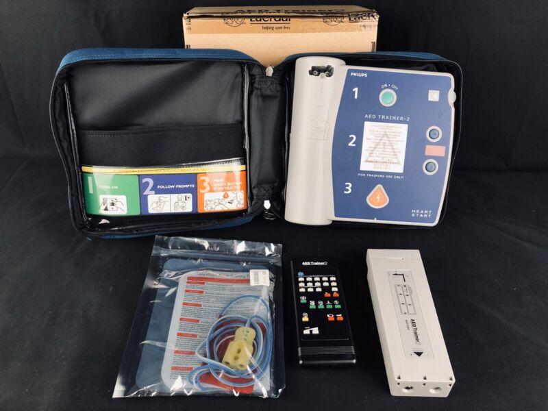 PHILIPS M3752A HeartStart FR2+ AED Defibrillator TRAINER 2 Training FR2