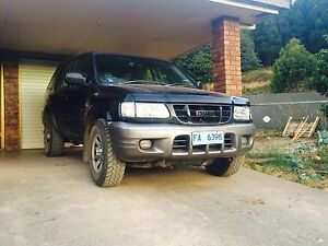 2001 Holden Frontera Wagon Kentish Area Preview