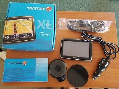 Tom Tom XL 335 S Maps of United States & Canada Car Auto GPS