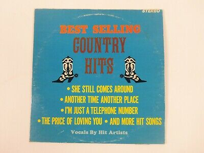 Best Selling Country Hits by Various Artists Vinyl Record Somerset Records