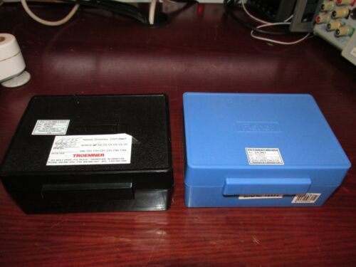 Troemner and Fisher Calibration Weight Set Class 1 **TESTED**