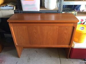 Wooden liquor cabinet, alcohol cabinet, bed head wooden Chermside West Brisbane North East Preview