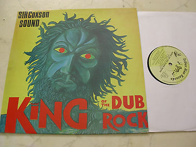 SIR COXSON SOUND King Of The Dub Rock *RARE VINYL TRIBES MAN RECORDS*