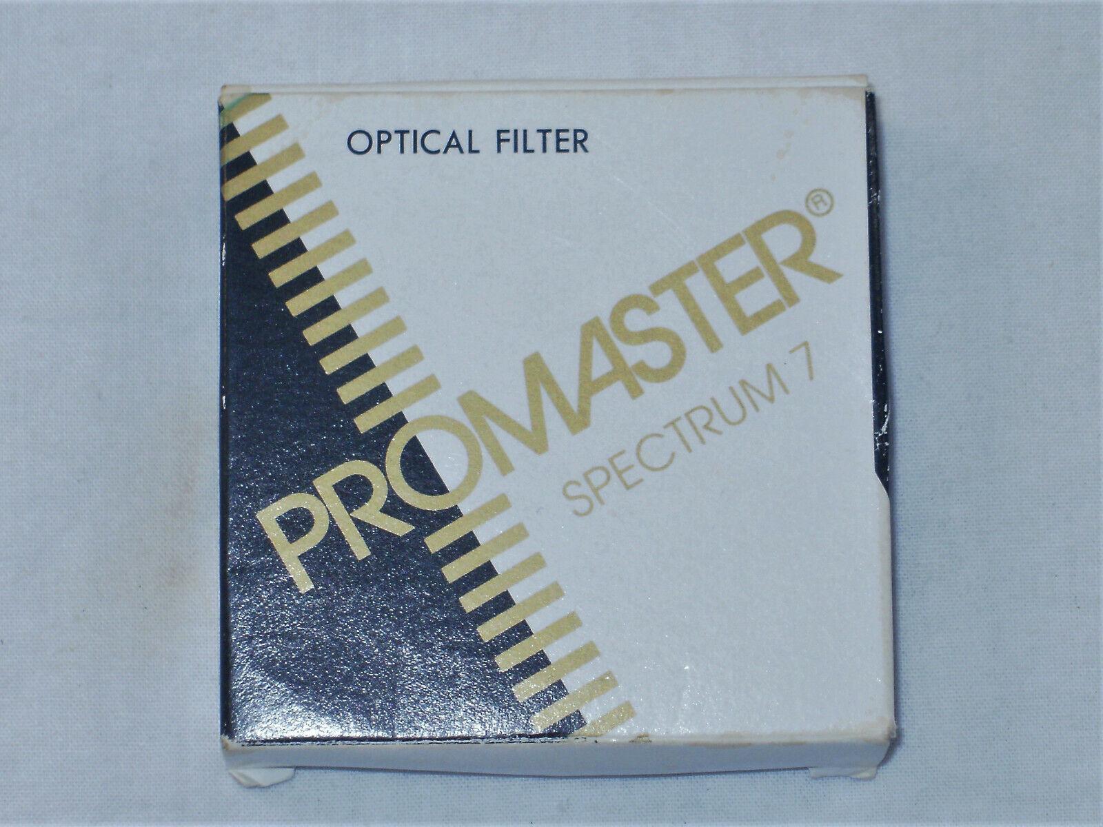 OPTICAL FILTER-PROMASTER SPECTRUM 7- 52MM SKYLIGHT 1A 4101 - $1.95