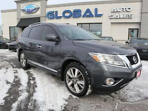 2014 Nissan Pathfinder PLATINUM 4WD TOP OF THE LINE.
