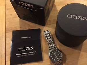 Citizen Eco Drive Watch for Men (Sapphire Crystal)