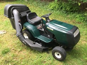 Craftsman lawn mower with bagging system