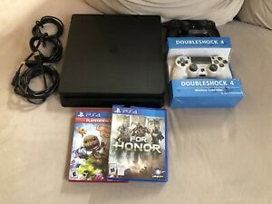 1TB PS4 SLIM BUNDLE FOR SALE!