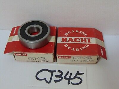 NACHI QUEST BEARINGS NEW IN BOX 6005ZZE