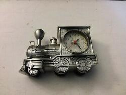 Vintage Retro Train Style Students Alarm Clock Table Desk Time Clock Cool Train