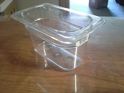 Cambro Ca94cw135 Food Pan Ninth Size Clear. Pack Of 5