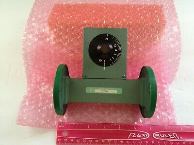 Microlab Fxr C155a Wr-137 Variable Waveguide Attenuator 5.95 To 8.20 Ghz