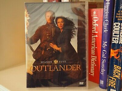 Outlander Season 5 (DVD 4-DISC) Brand New & Seal Fast Shipping!!!
