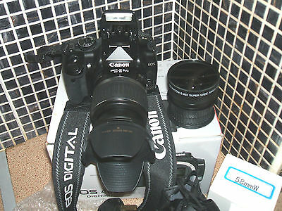 Canon EOS 400D /  10.1 MP Digital SLR Camera -  WITH THREE-LENS KIT SEMI-PRO.. Digital Camera Pro Kit